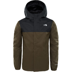 The North Face Resolve Reflective Jacket Jungen new taupe green